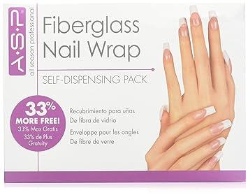 Amazon asp fiberglass nail wrap false nails beauty asp fiberglass nail wrap solutioingenieria Gallery