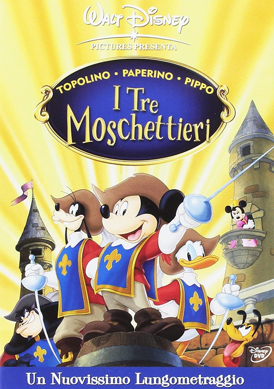 I tre moschettieri topolino paperin amazon cartoni animati