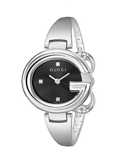 Gucci YA134301 - Reloj de cuarzo para mujer, con correa de acero inoxidable, color