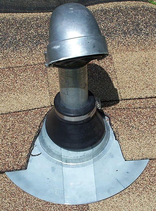 Electric Service Weatherhead Mast Retro-Spin Flashing Kits