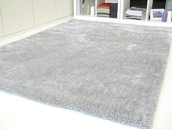 Schöner Wohnen Emotion silber   Designer Teppich   diverse Größen ...