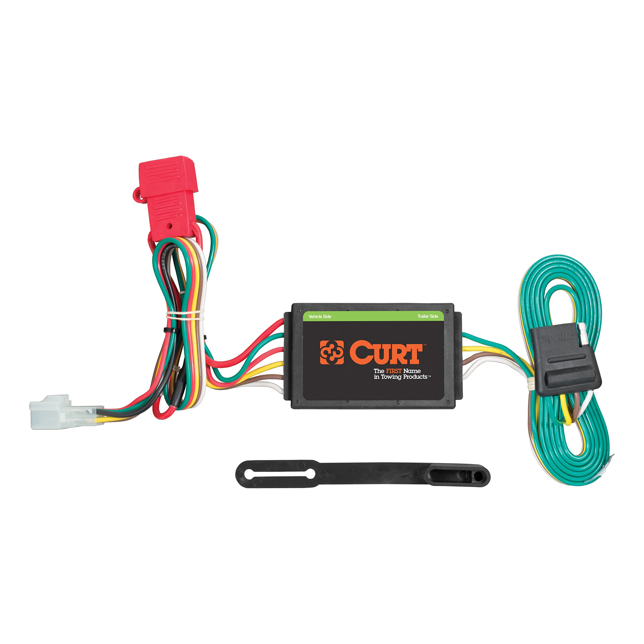 CURT 55370 Vehicle-Side Custom 4-Pin Trailer Wiring Harness for Select Subaru Forester, Legacy, Outback, B9 Tribeca, WRX by Curt Manufacturing