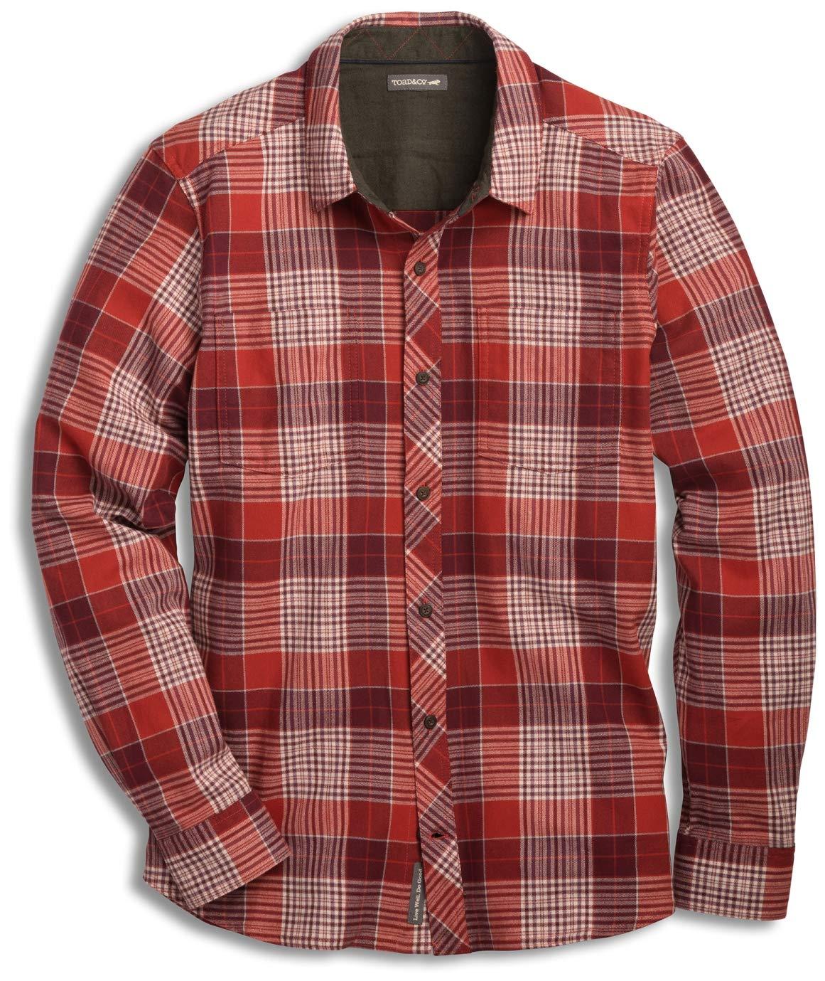 Toad/&Co Flannagan Solid LS Shirt Mens