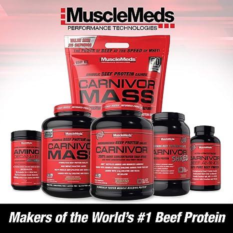 Muscle Meds Carnivor Shred (2lbs) 1 unidad 1036 g