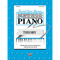 David Carr Glover Method for Piano: Theory, Level 1 book cover