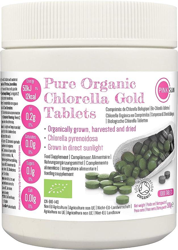 chlorella pyrenoidosa tabletten