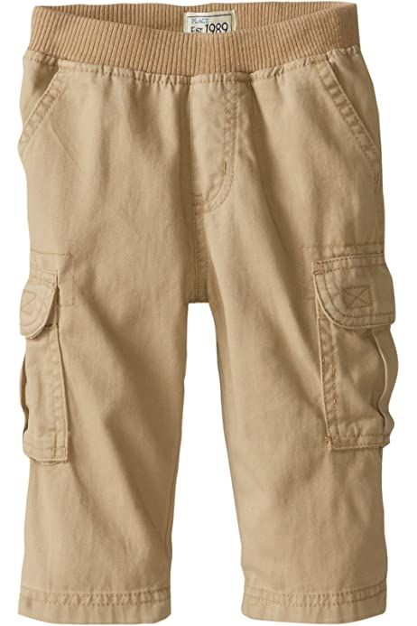 Black The Childrens Place Little Boys Pull-On Cargo Pant 6