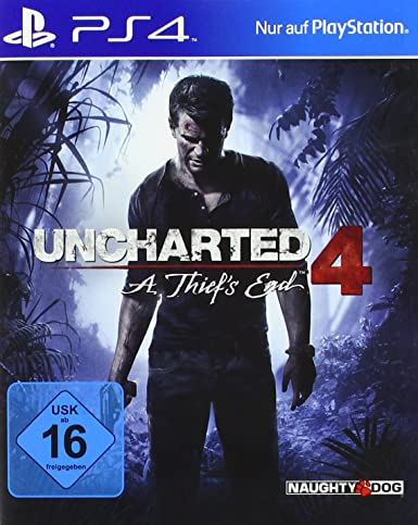 Sony Uncharted 4: A Thiefs End PS4 Básico PlayStation 4 Alemán ...