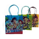 (12ct) Disney Nickelodeon Marvel Birthday Goody Gift Loot Favor Bags Party Supplies (Toy Story)