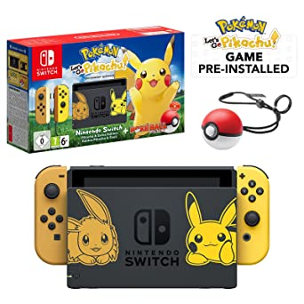 Nintendo Switch Let S Go Pikachu Limited Edition Console With