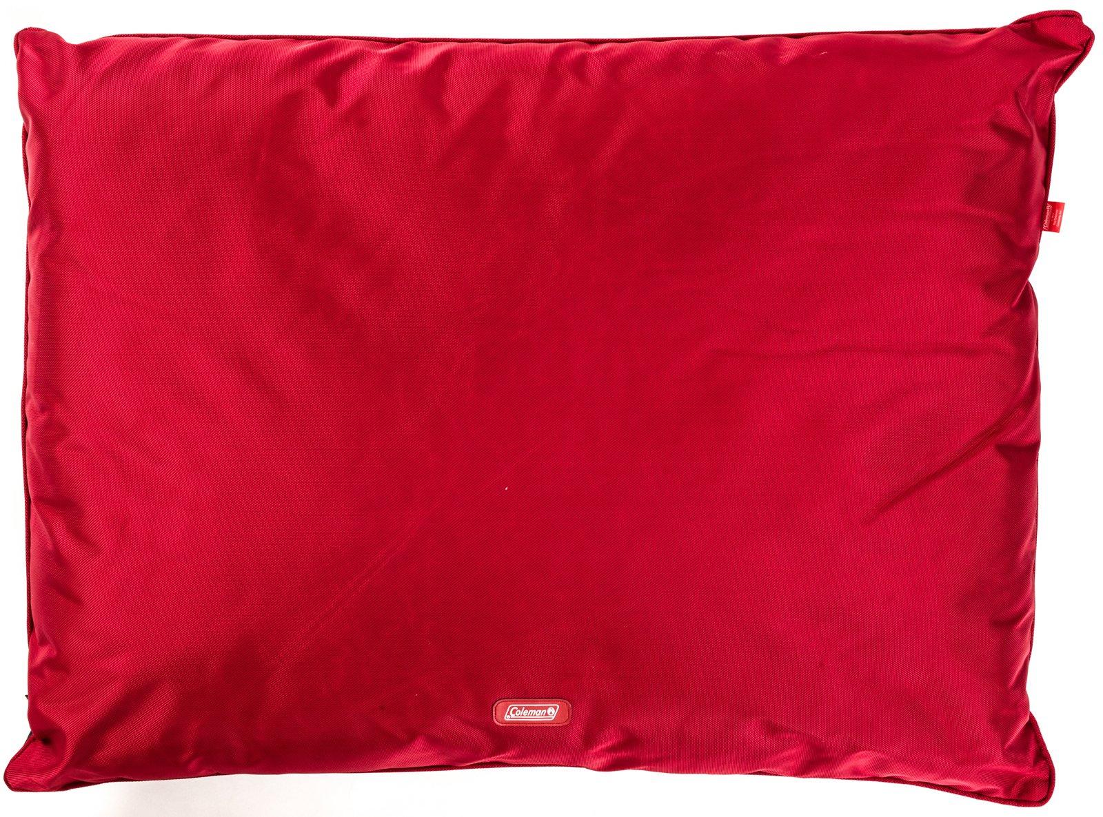 Coleman Indoor/Outdoor Red Pet Pillow Bed