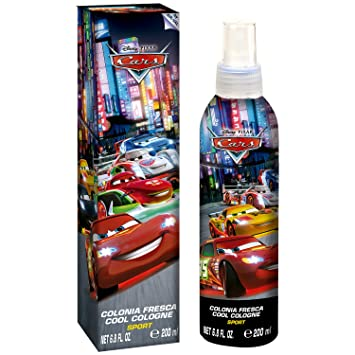disney pixar cars for kids cool cologne sport spray 68 ounce