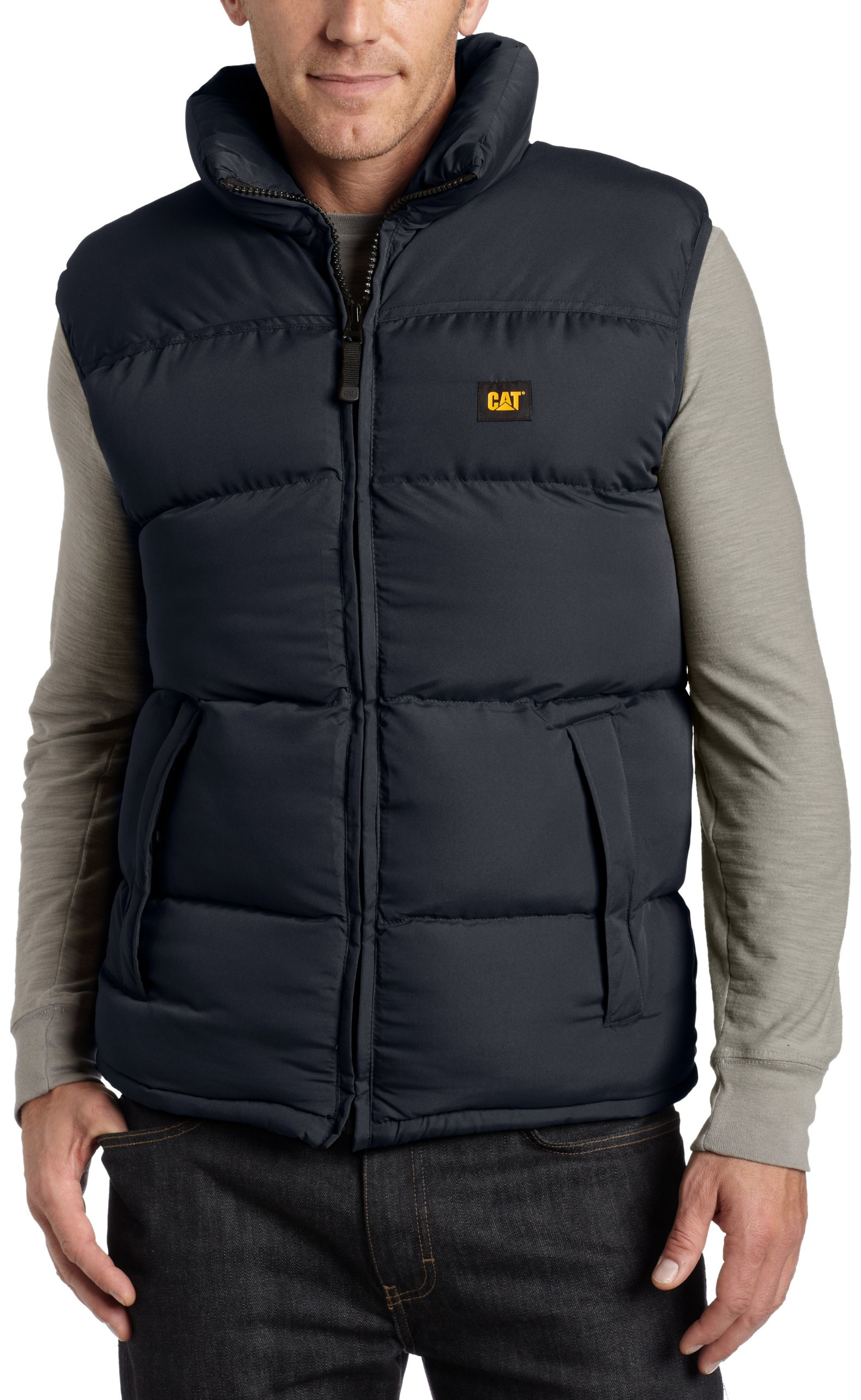 Caterpillar Men's Arctic Zone Vest, Navy, Medium