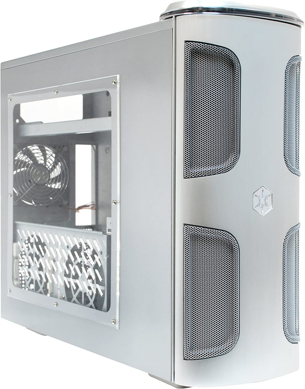 Silverstone KL03S-W Kublai Full-Tower Plata - Caja de Ordenador (Full-Tower, PC, Aluminio, ATX, Plata, 220 mm): Amazon.es: Informática