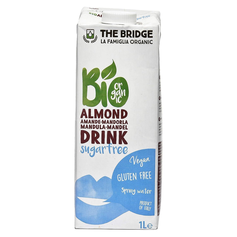 Bebida vegetal de almendras The Bridge 1L: Amazon.es: Alimentación ...