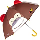 Skip Hop Zoo Little Kid and Toddler Umbrella, Marshall Monkey