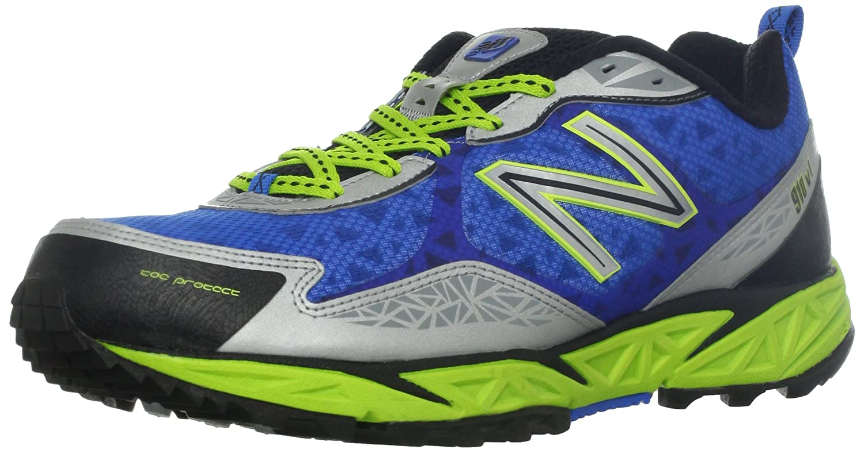 New Balance MT910 D - Zapatillas de correr de material sintético hombre, color azul, talla 44.5: Amazon.es: Zapatos y complementos
