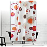 New Peva Bathroom Shower Curtain Extra Long 180 x 200 cm (Rings)