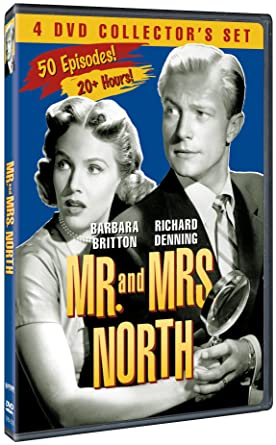 Amazon com: Mr  And Mrs  North: 4 DVD Collector's Set