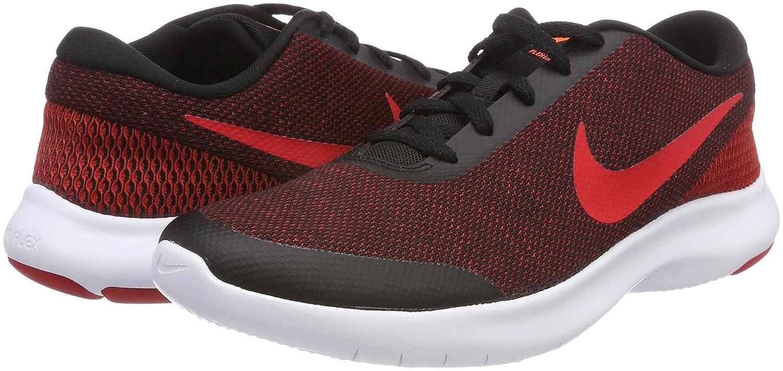 NIKE Men's Flex Experience 7 Running Shoe B0722YKB55 9 M US|Black/University Red - Gym Red