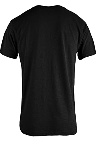 TL Men Casual Basic Short Sleeve Tri-Blend
