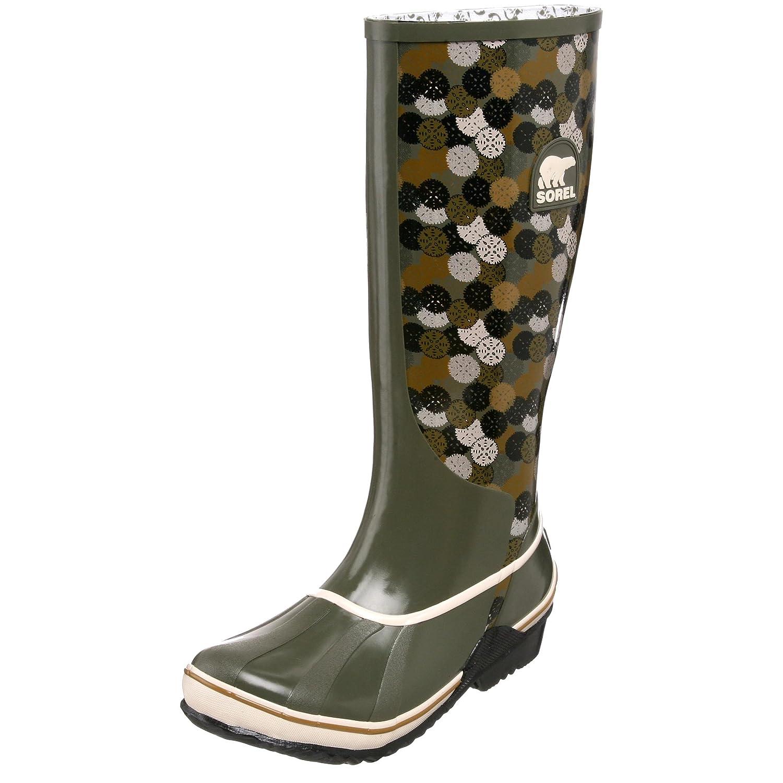 low heel sorel rain boots