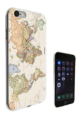 World Map Iphone 6s Case.178 Cool Fun World Map The World Look Design Iphone 6 6s 4 7