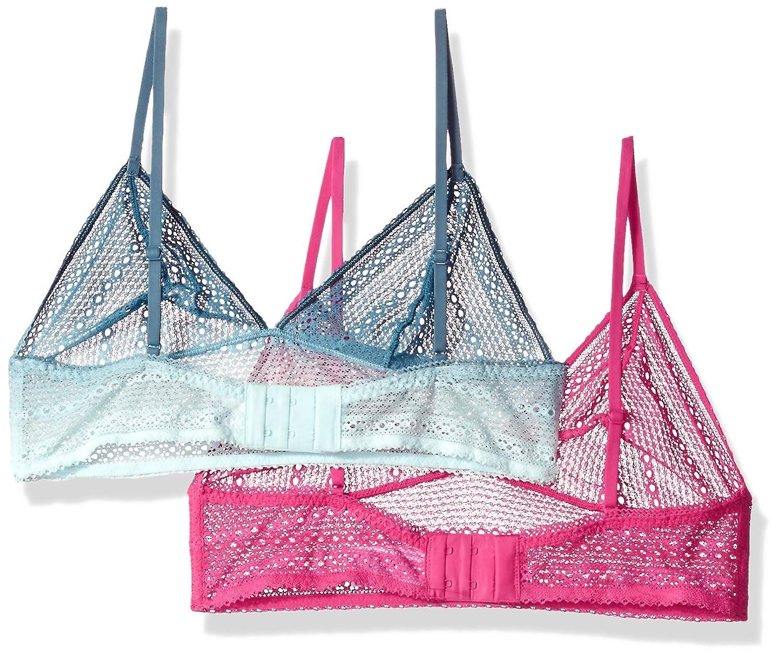 0fc1de72a59e2 Calvin Klein Women s Ombre 2 Pack Bralette