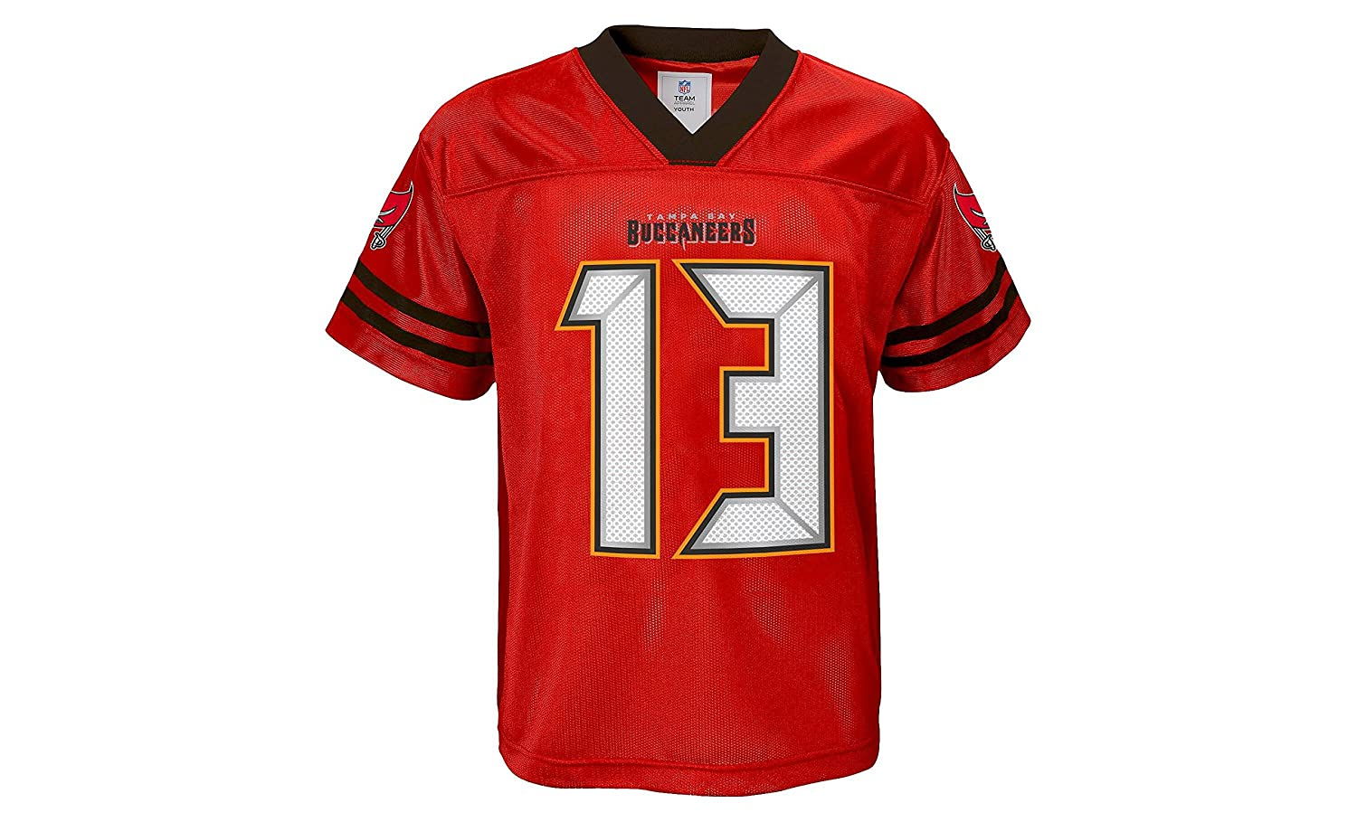 size 40 afc30 18756 Amazon.com: Mike Evans Tampa Bay Buccaneers Red Home Player ...