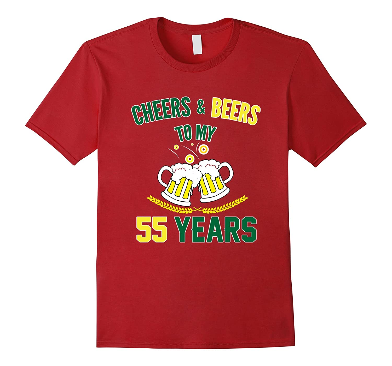 Funny Birthday T Shirt For 55 Years Old 55th Party PL