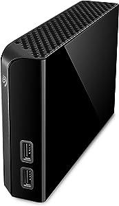 Seagate Backup Plus Hub 4TB External Hard Drive Desktop HDD – USB 3.0, for Computer Desktop Workstation PC Laptop Mac, 2 USB Ports, 2 Months Adobe CC Photography (STEL4000100)