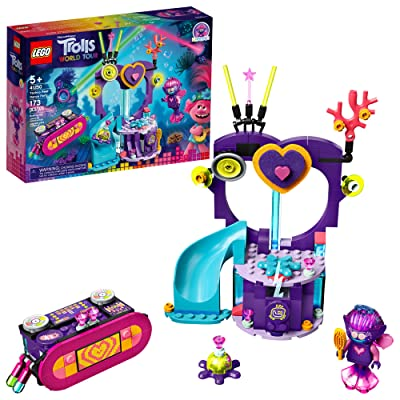 LEGO Trolls World Tour Techno Reef Dance Party 41250 Building Kit, Awesome Trolls Playset for Creative Play, New 2020 (173 Pieces): Toys & Games