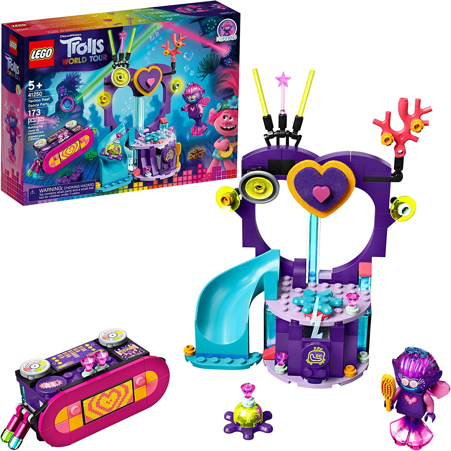 Trolls World Tour Techno Reef Dance Party 41250 LEGO