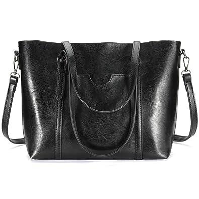 Amazon.com: Women Tote Purse, Bagerly Top Handle Satchel Handbags ...