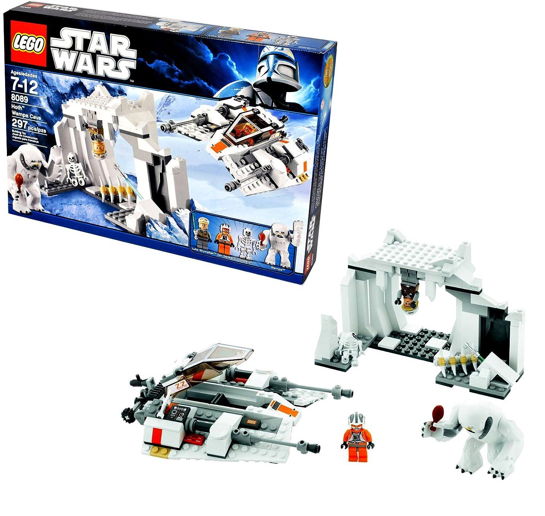 Lego Star Wars Movie Series The Empire Strikes Back 75098 Assault On Hoth Battle Pack Set 8089 Wampa Cave With Snowspeeder Luke Skywalker Zev Senesca