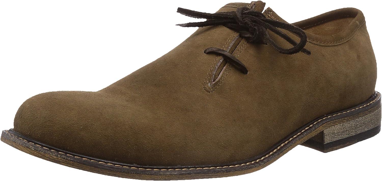 TALLA 40 EU. TrachtenRebell Eduard, Zapatos de Cordones Oxford para Hombre