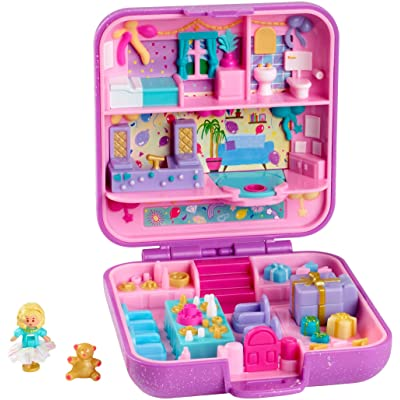 Polly Pocket Partytime Surprise Keepsake Compact: Toys & Games