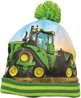 John Deere Boys Little Winter Hat, Green, Toddler