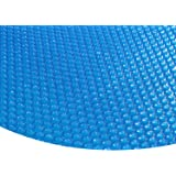 Zelsius®–Solaire pour piscine, 400µ–Rond, Bleu–Diamètre 3,6m