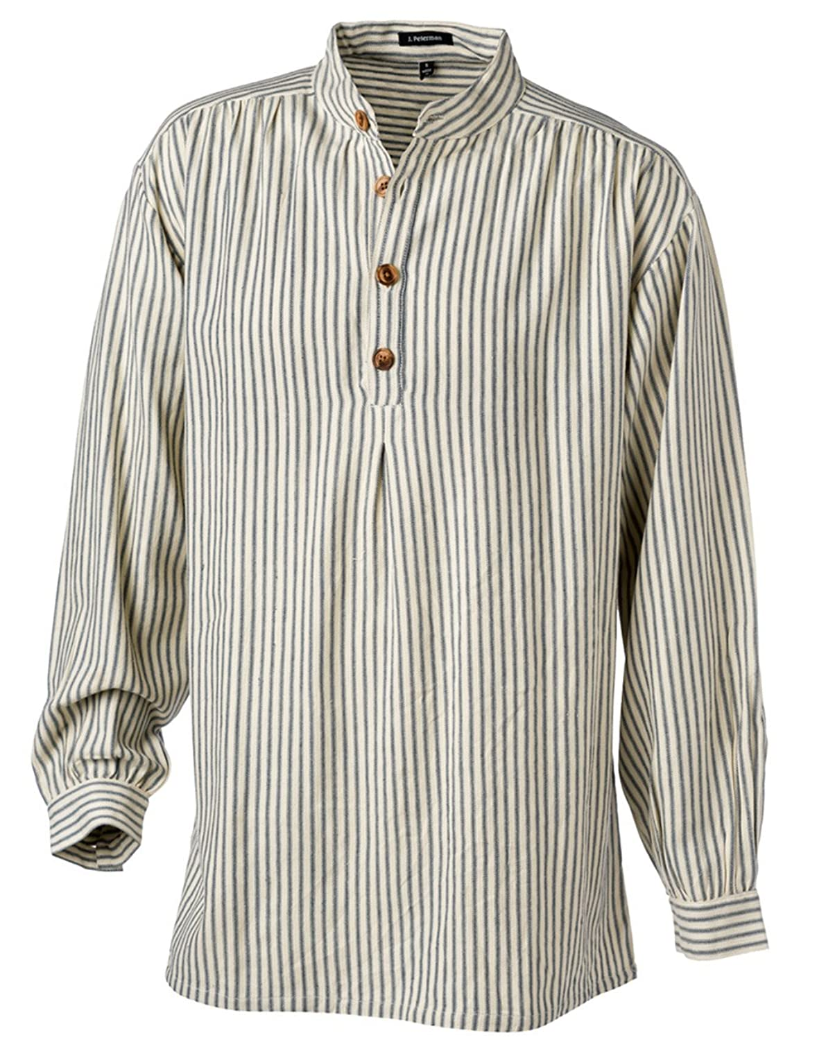 1920s Style Mens Shirts | Peaky Blinders Shirts and Collars The J. Peterman Shirt $56.35 AT vintagedancer.com