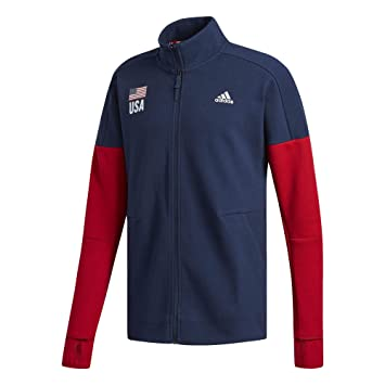 adidas USA Volleyball Warm Up Jacket Men's