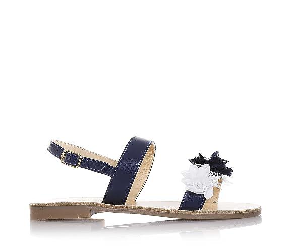 Sandali Primavera bianchi con fibbie Moda Positano UQ4Kz0WrU