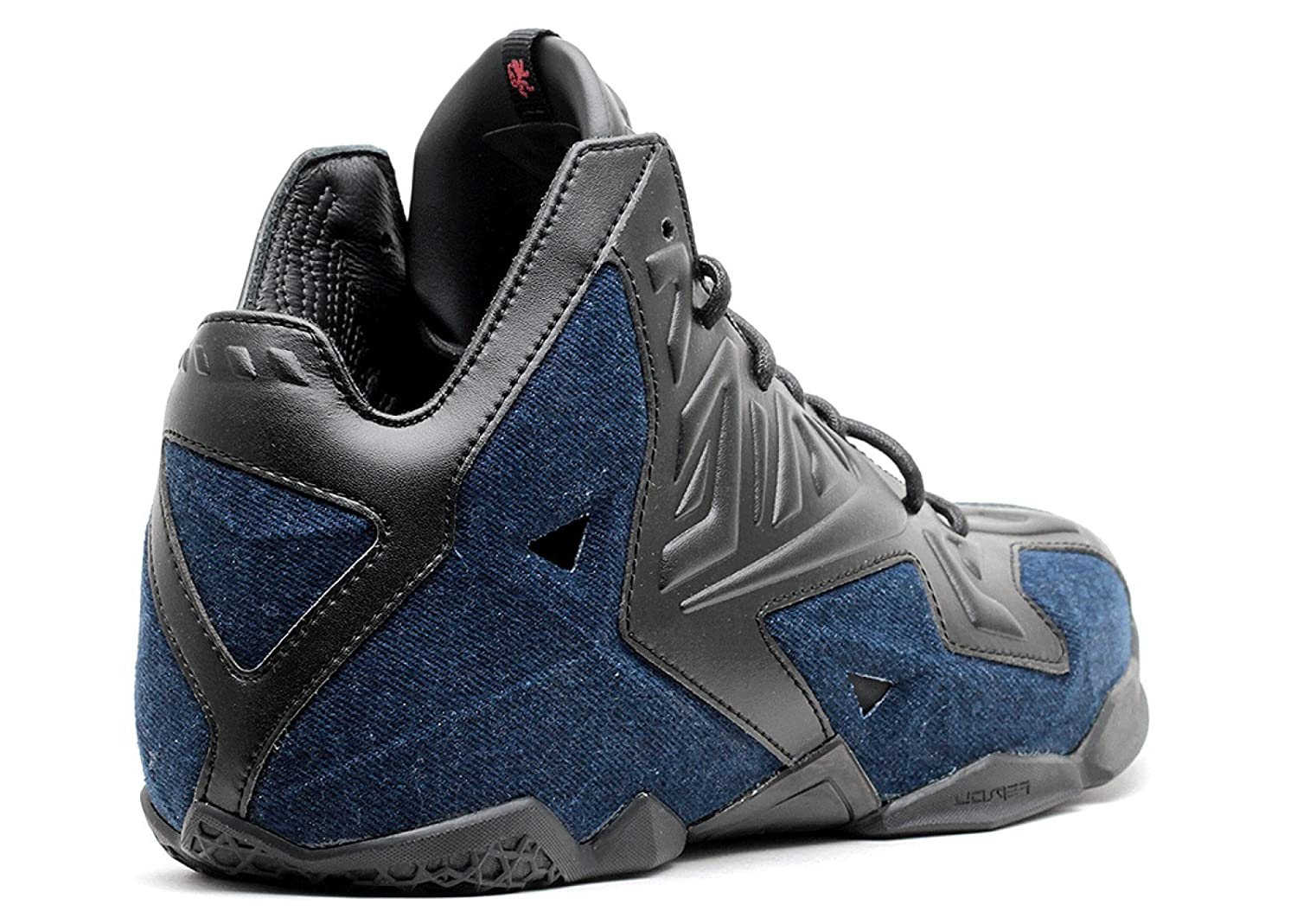 reputable site 45d64 cf59f Amazon.com   Nike Lebron XI EXT Denim QS Men s Shoes Black Black-Denim  659509-004   Basketball