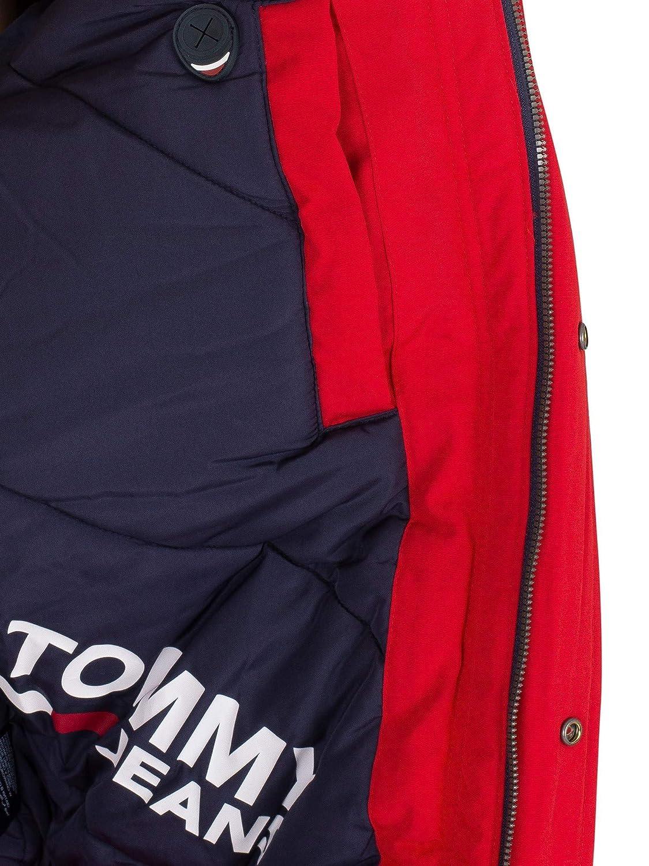 Rouge Tommy Jeans Homme Blouson Technique