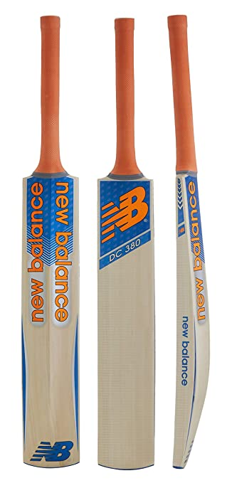 New Balance DC 380 Kashmir-Willow Cricket Bat, Short Handle
