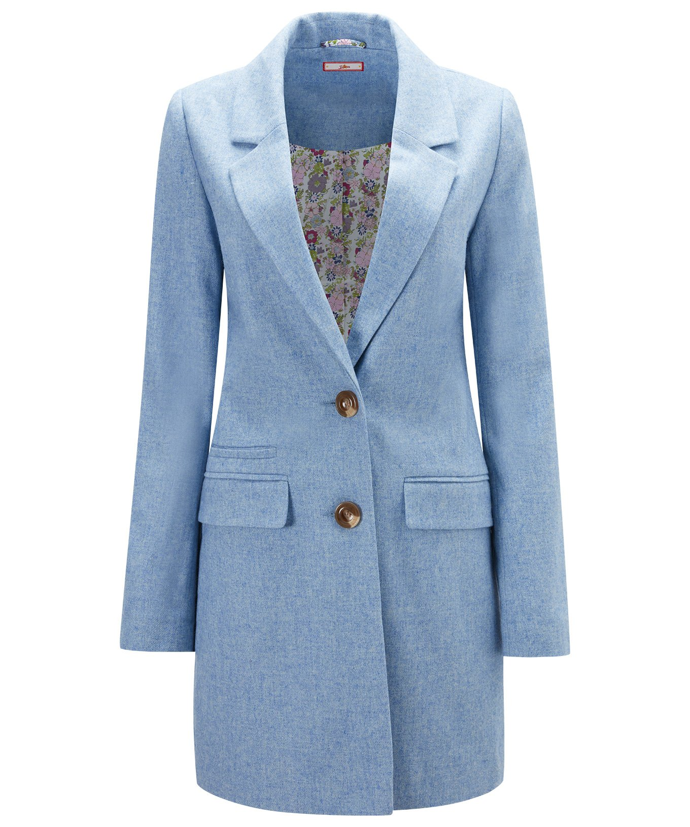Joe Browns Womens Oversized Boyfriend Style Coat Blue 12