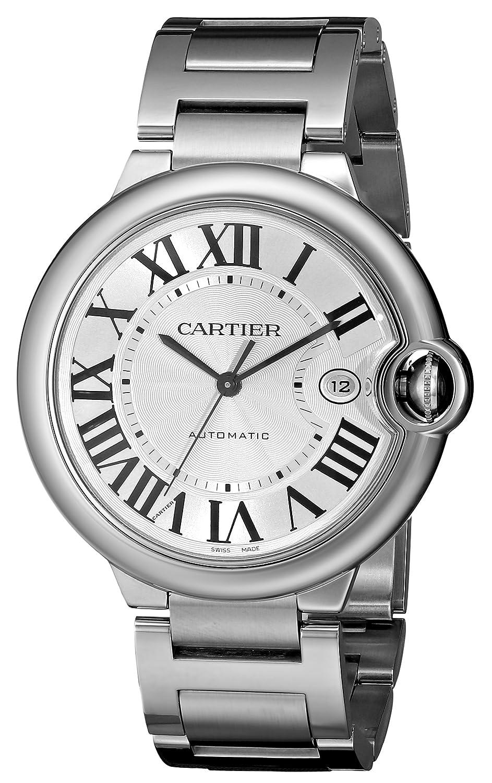 Cartier Ballon Bleu - Reloj (Reloj de Pulsera, Masculino, Acero Inoxidable, Acero Inoxidable, Acero Inoxidable, Acero Inoxidable): Amazon.es: Relojes