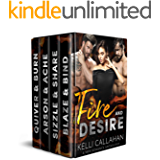 Fire & Desire: A MFM Romance Anthology (Surrender to Them)