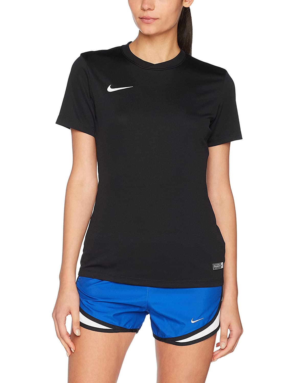 Nike Park VI Jersey Women Short Femme, Noir/Blanc, FR : S (Taille Fabricant : S)