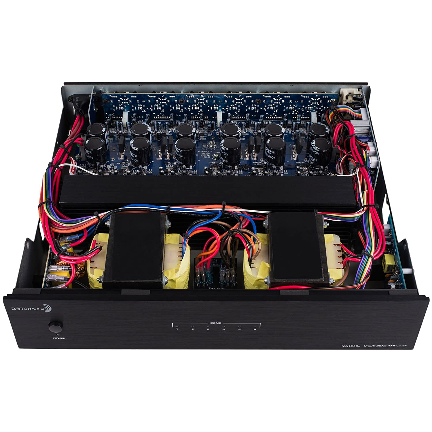 Dayton Audio Ma1240a Multi Zone 12 Channel Amplifier Wifi On So Do It Your Self Electronic Circuit Design Electronics